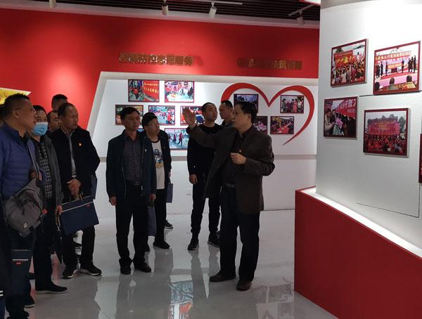 郑州市某管理处赴南水北调移民精神基地开展党性教育培训班